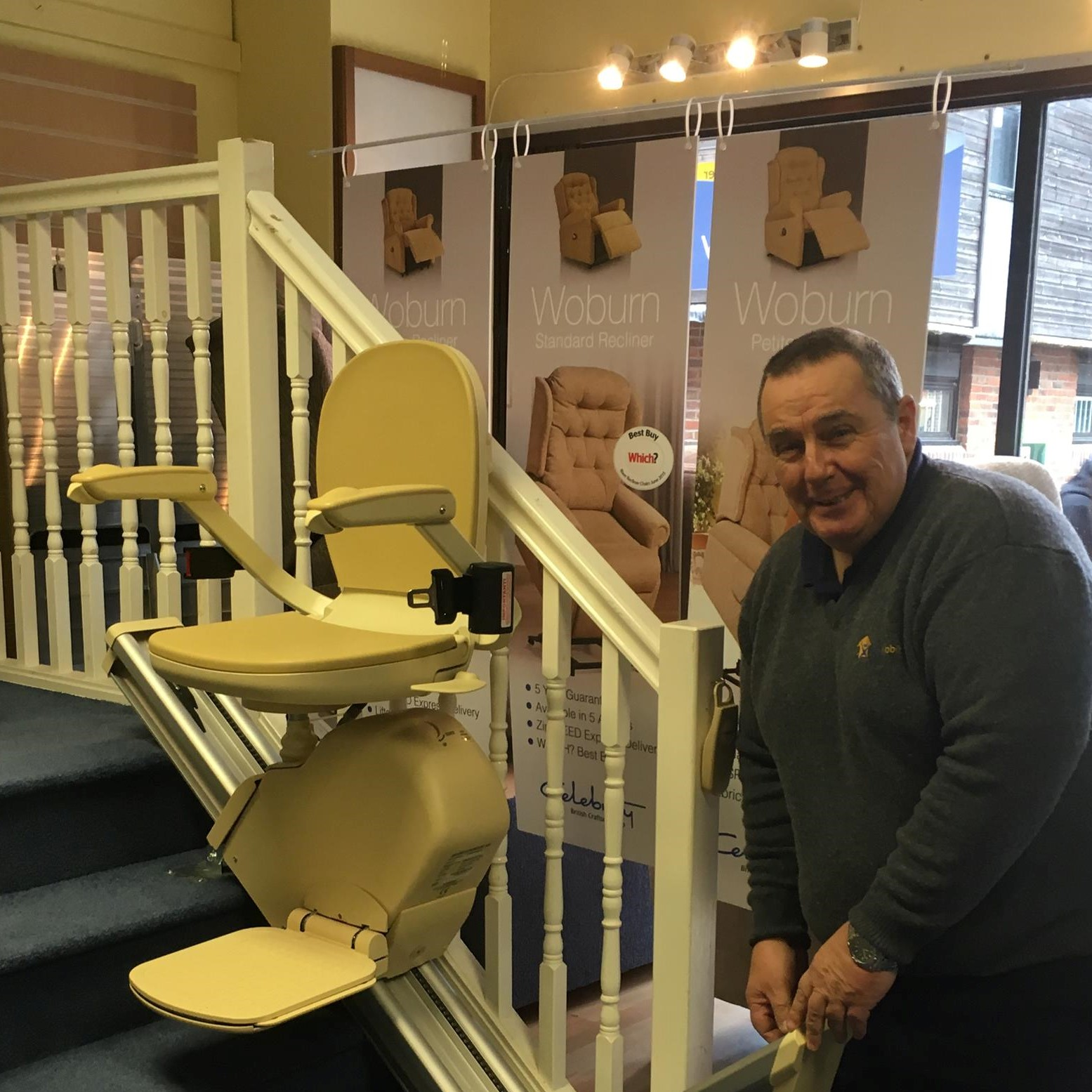stairlift engineer and stairlifts at true mobility didcot oxfordshire