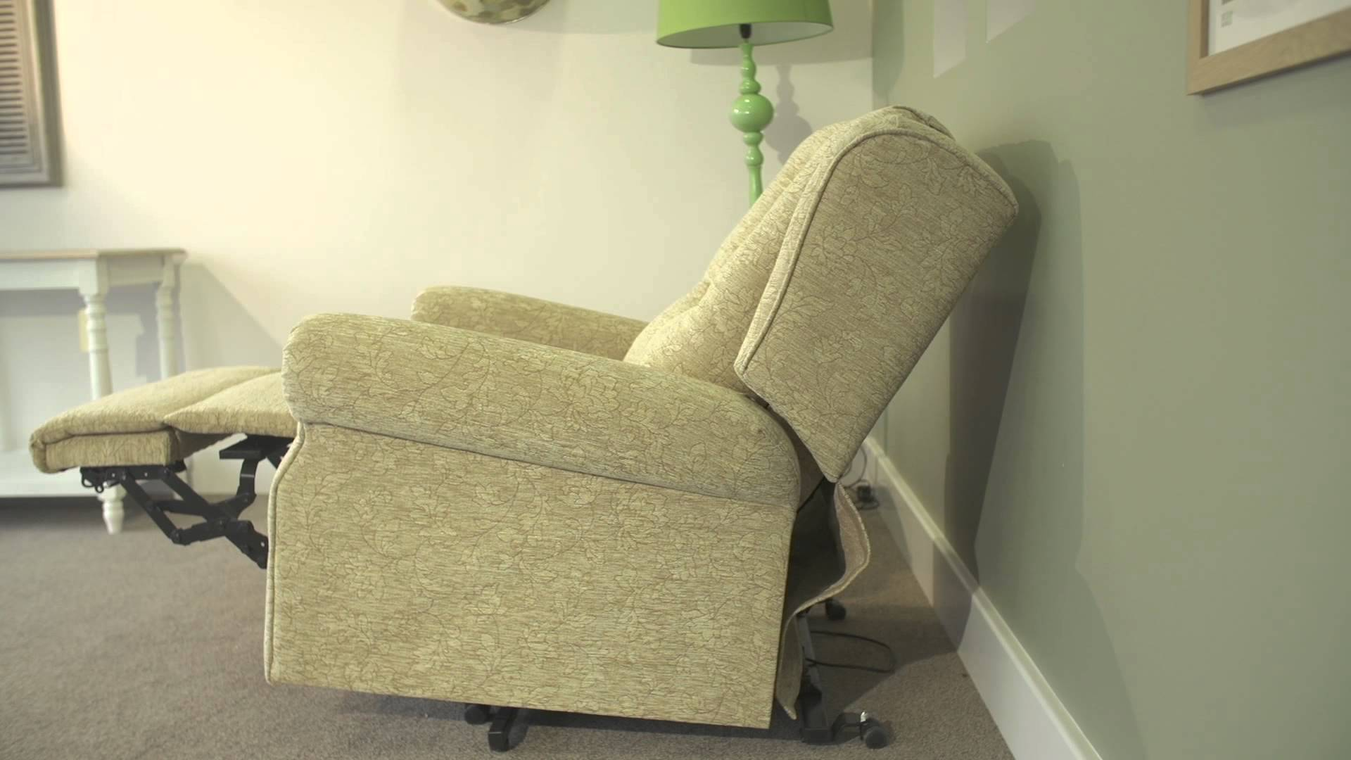 Rise and Recline chairs with wall hugger action at true mobility didcot oxfordshire