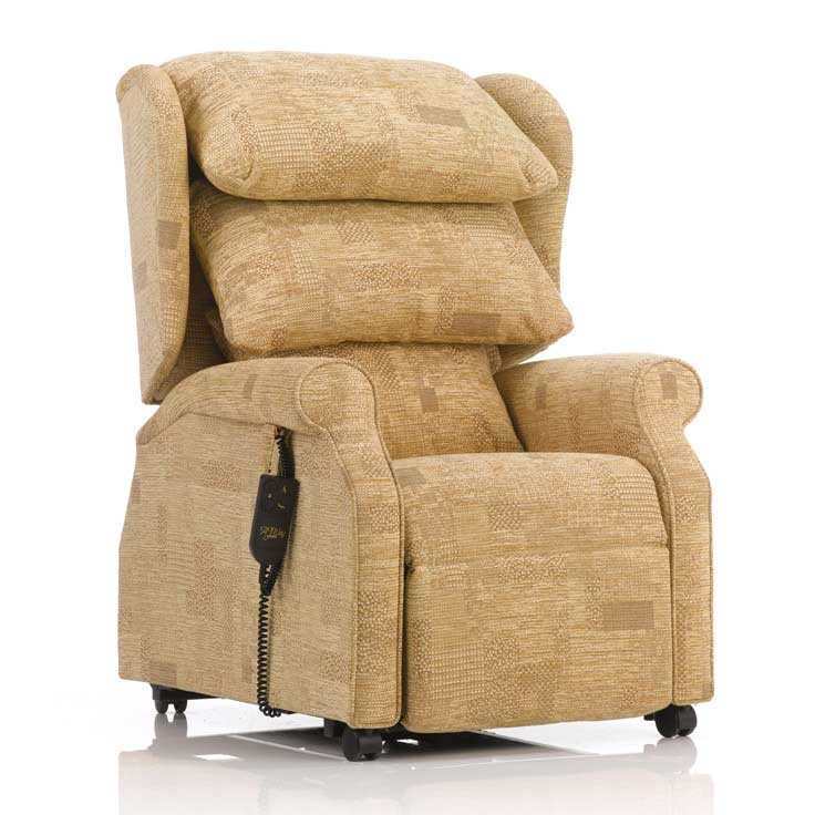 Waterfall Back Rise and Recline Chair at True Mobility Didcot Oxfordshire