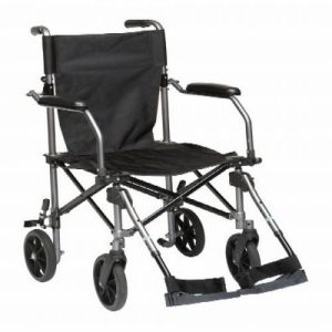 TraveLite Aluminium Transport Wheelchair-0