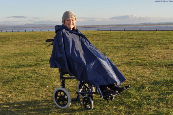 Wheelchair Poncho Splash-0