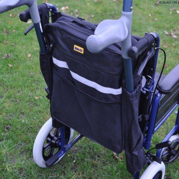 Splash Crutch/Walking Stick Bag - Black-0